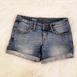 Mid Rise Painter's Shorts Size 00